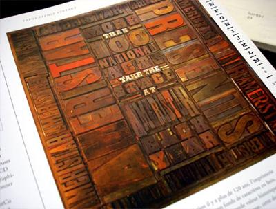 Abbildung: Typographie Vintage
