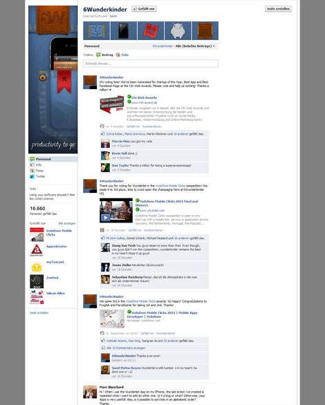 Screenshot Facebook 6 Wunderkinder