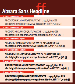 FontShop FF Absara