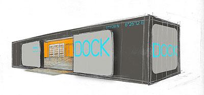 Gladbach Dock Skizze
