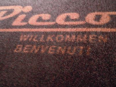 Picco Fußmatte Detail