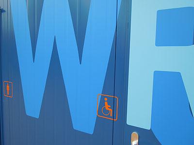 WC Dock Behinderte