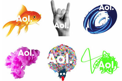 Grafik: Aol Logos