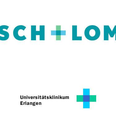 Grafik: Logos Bausch + Lomb und Uniklinikum Erlangen