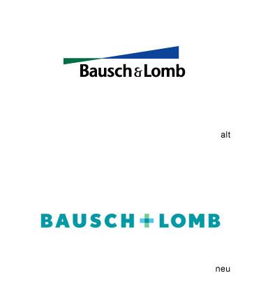 Grafik: Bausch + Lomb Logo