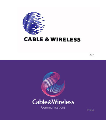 Grafik: Cable & Wireless Logo