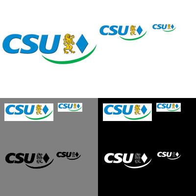 Grafik: CSU Logos