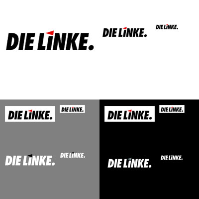 Grafik: Logos Die Linke