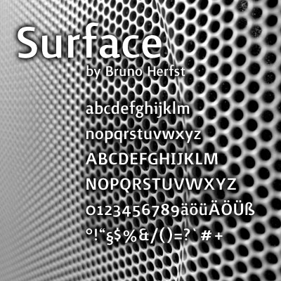 Grafik: FreeFont Surface