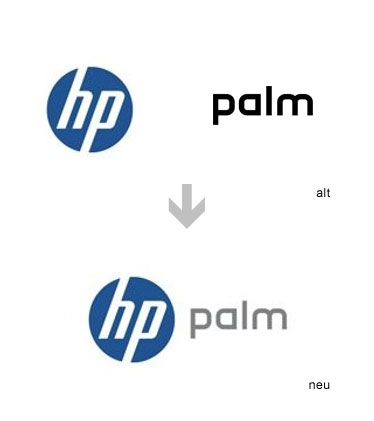 Logo hp palm
