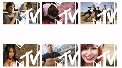 Grafik: Mtv Logo ReDesign