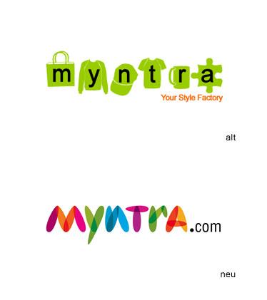 Logo Myntra