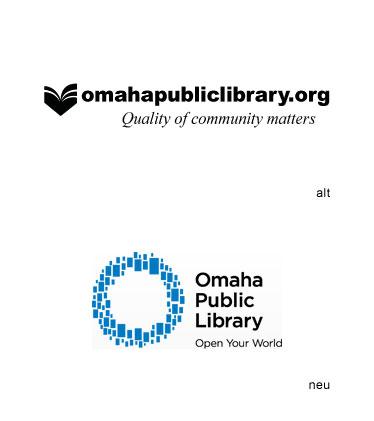Grafik: Omaha Public Library Logo