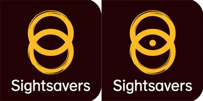 Grafik: Sightsavers Logo Remix