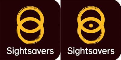 Grafik: Sightsavers Logo Remix