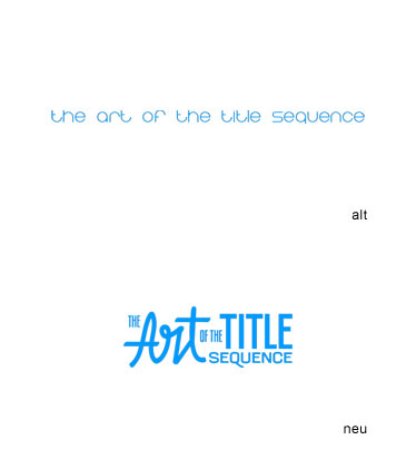 Grafik: Logo The Art of the Title Sequence