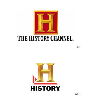 The History Channel erhält ein neues Logo