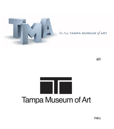 Grafik: Tampa Museum of Art Logo