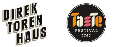 Logos Direktorenahus und Taste Festival 2012