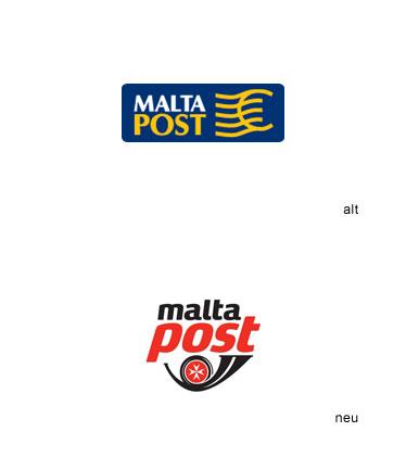 Logo malta post