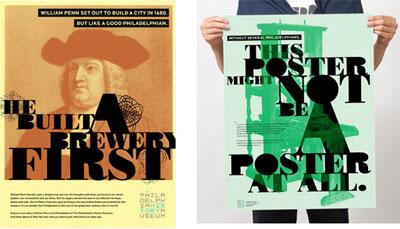Grafik: The Philadelphia History Museum Plakate