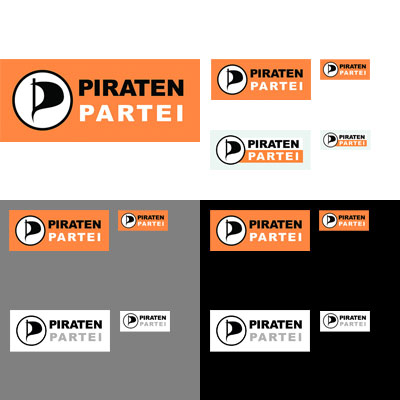 Grafik: Piraten Partei Logos