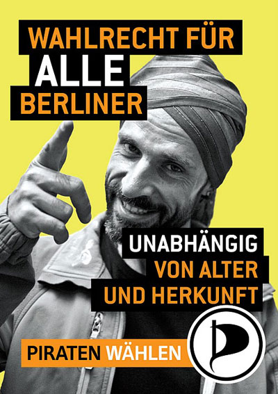 Piratenpartei - Wahlrecht fur alle Berliner