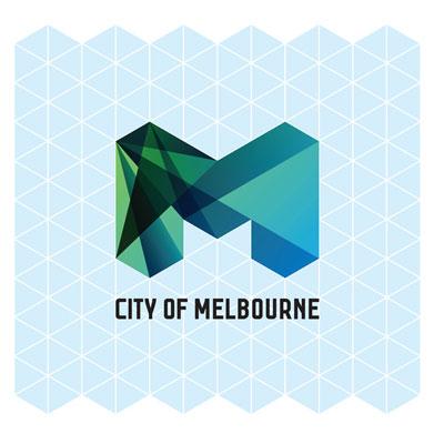 Grafik: Raster Logo City of Melbourne