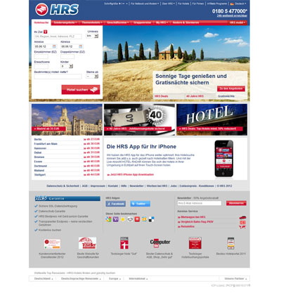 HRS Homepage