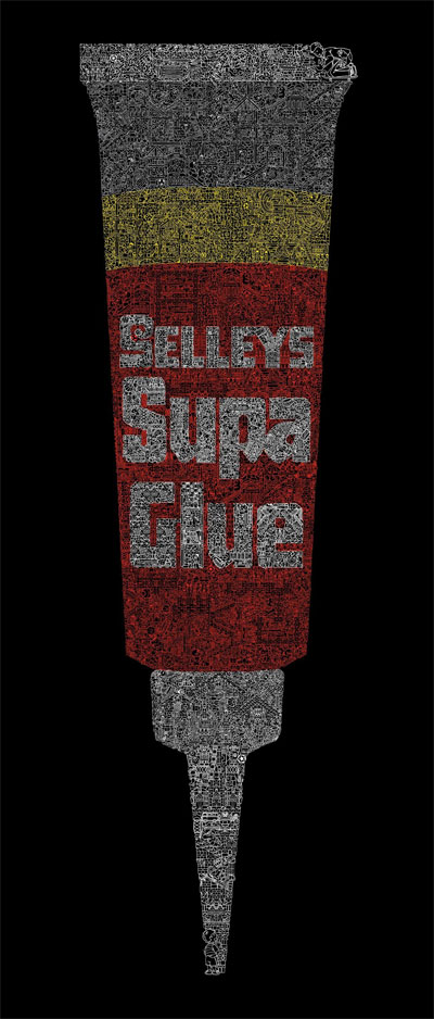 Grafik: Selleys Super Glue