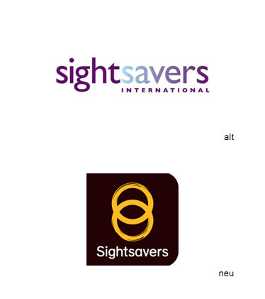 Grafik: Sightsavers International Logo