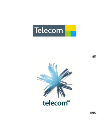 Grafik: Telecom New Zealand Logo