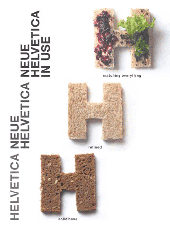 Poster: Helvetica Now #1