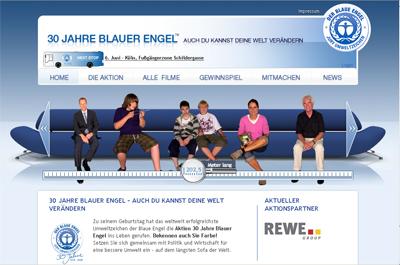 Homepage: 30 Jahre Blauer Engel