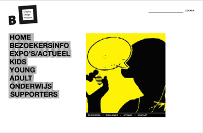 Homepage: graphicdesignmuseum Breda