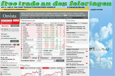 Homepage: OnVista alt