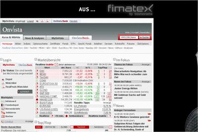 Homepage: OnVista neu