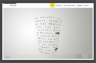 Homepage: Reclam Literatur Döner