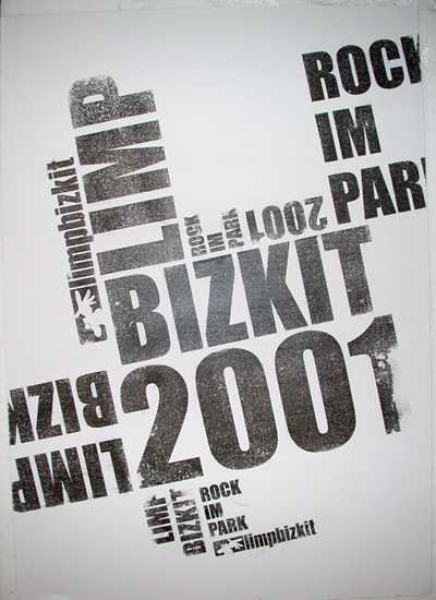 Druck: limp bizkit rock im park 2001