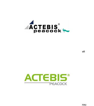 Logos: Actebis Peacock