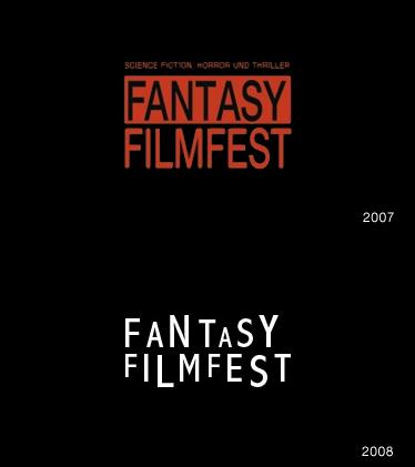 Grafik: Logos Fantasy Filmfest 2007 2008