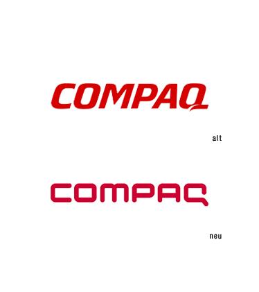 Logo ReDesign Compaq