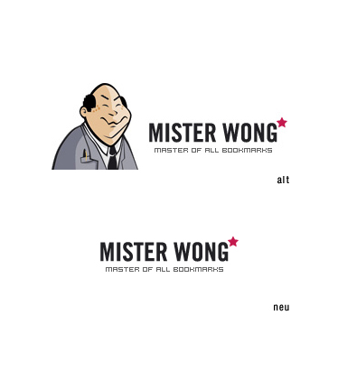 redesign mister wong logo