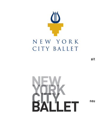Logos: Newy York City Ballet
