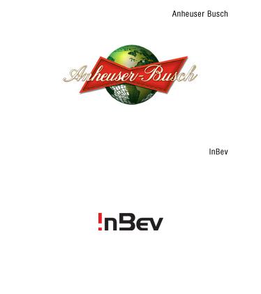 Logos: Anheuser Busch InBev