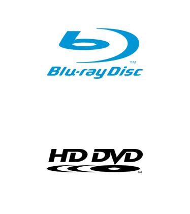 Logos: Blu-ray Disc HD DVD