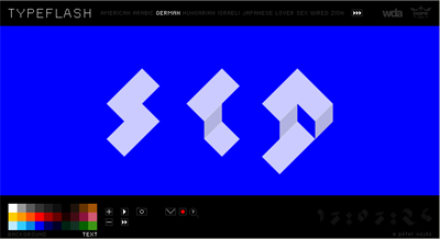 Typeflash Homepage