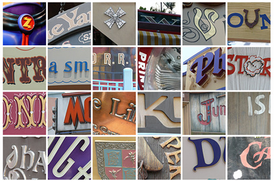 Magic Kingdom Alphabet