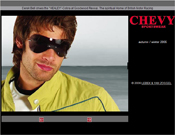Website chevy.de Alt