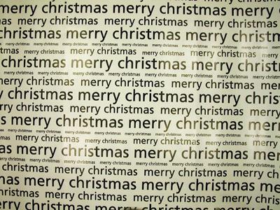 foto: merry christmas papier